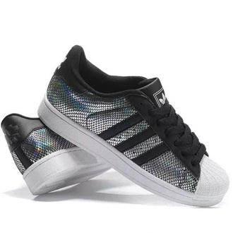 shoes sneakers fashion style adidas adidas shoes adidas superstars cool metallic boogzel