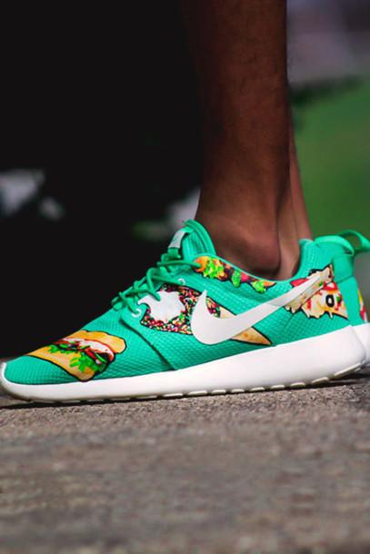 Teal Nike Tennis Shoes