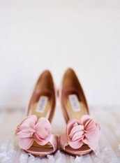 shoes,blush,pink,blush pink,flowers,wedding,heels,girly,heel,summer
