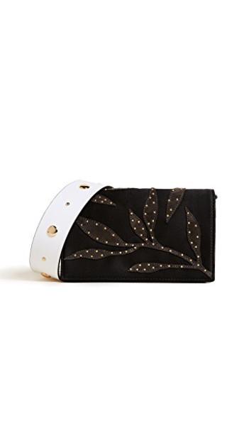 Diane Von Furstenberg cross bag white black