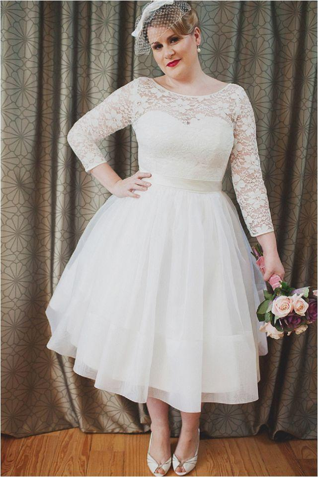 Wedding dresses plus size short