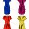 Fashionistadujour — new! trendy tie dye double side high slit casual boyfriend t-shirt dress sml