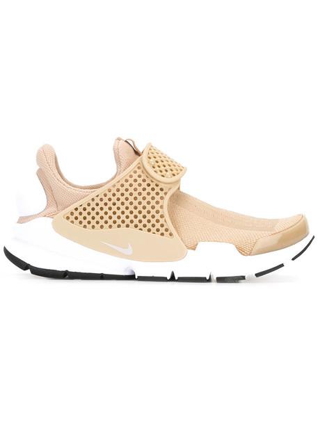 Nike Sock Dart sneakers, Women's, Size: 12, Nude/Neutrals, Nylon ...