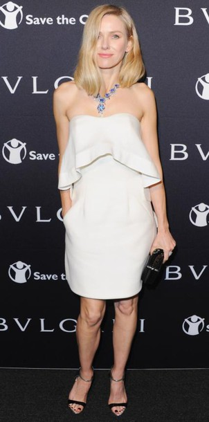 dress strapless naomi watts