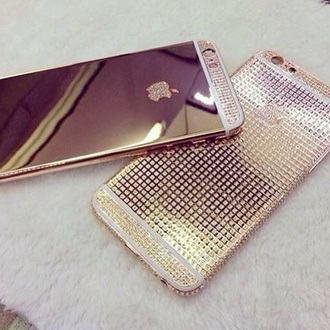 phone cover apple iphone 5 gold diamonds iphone 5 case