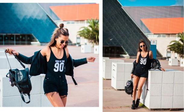 top black bodysuit