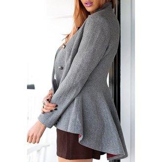 grey rose wholesale winter coat