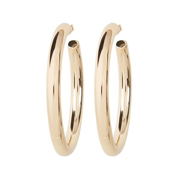 Melanie Auld Modern Hoop Earrings