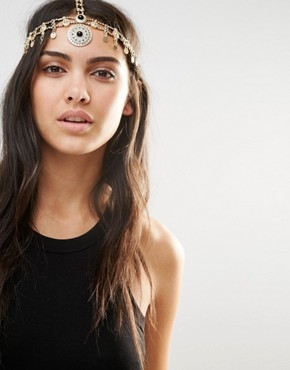 River Island Festival Hair Crown at asos.com