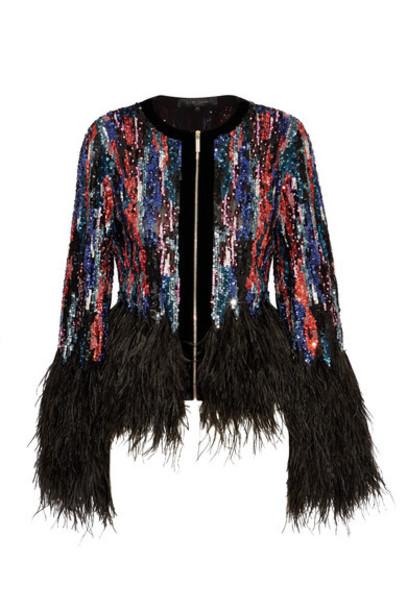 Elie Saab jacket embellished black