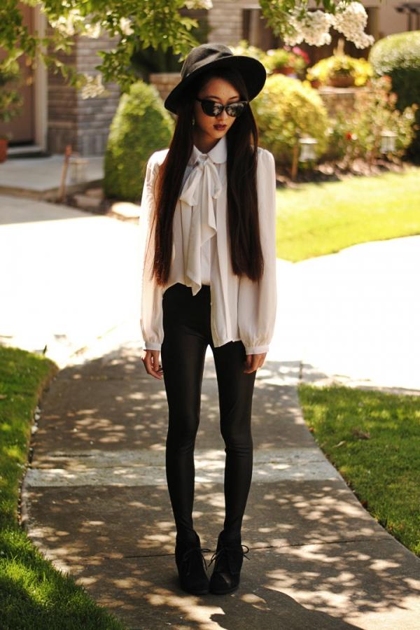 OASAP - Matte Faux Leather Skinny Leggings - Street Fashion Store
