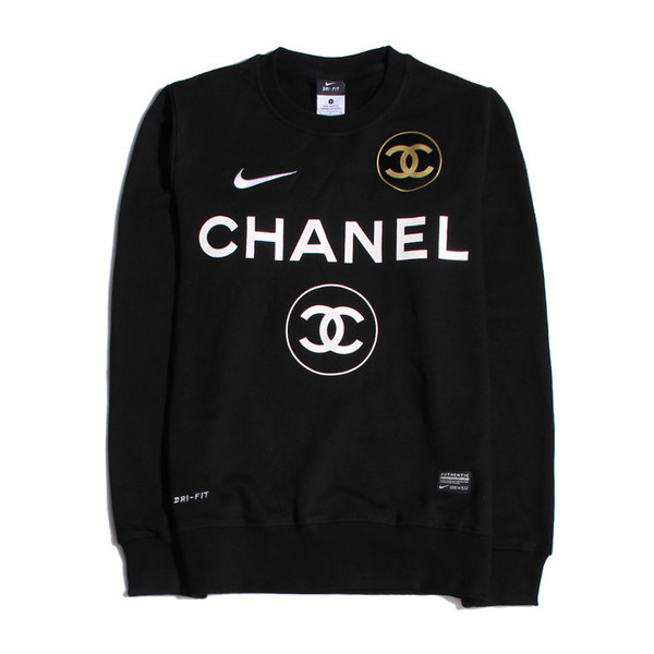 Sweater Chanel Nike Top Cute Gold Wheretoget