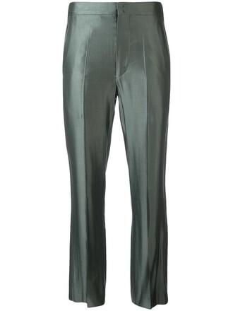 women cotton grey pants