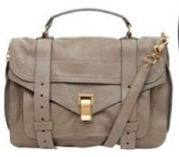 bag gray messenger