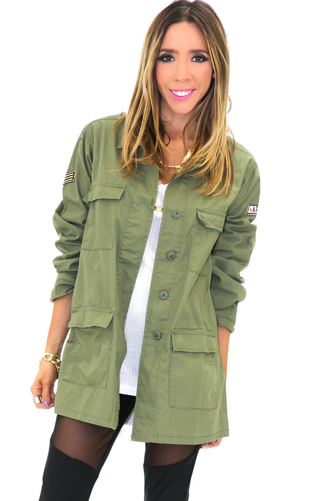 Drill army light jacket | haute & rebellious