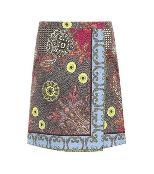 ETRO skirt wrap skirt