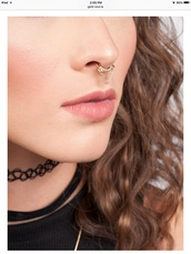 jewels,septum piercing,faux septums,fake septums