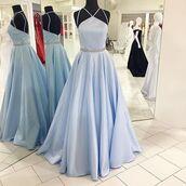 dress,prom dresses short description dresses,light blue,crystal floral pin,floor length,haltered,aline,sheer back,sleeveless
