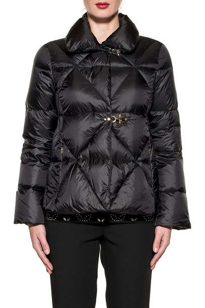 FAY jacket down jacket quilted black