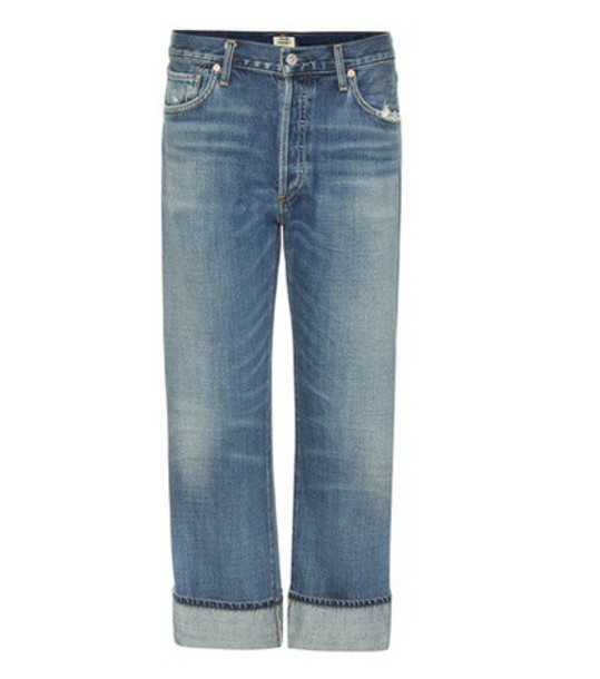 CITIZENS OF HUMANITY jeans high blue