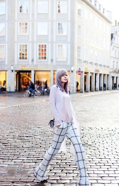bekleidet blogger blouse top pants bag