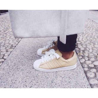 beige shoes beige sneakers adidas low