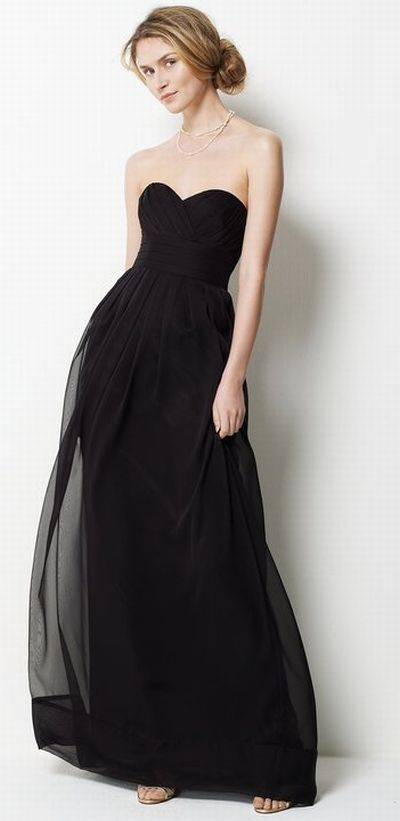 Watters Iridescent Chiffon Long Bridesmaid Dress 9531