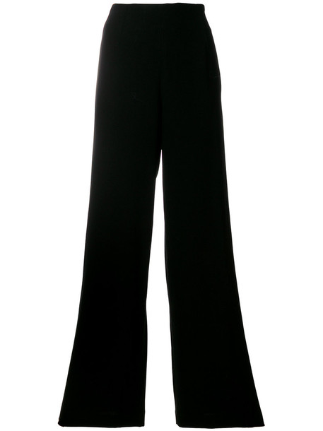 Alexa Chung women black pants