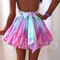 Rainbow skirt |  d.m. retro