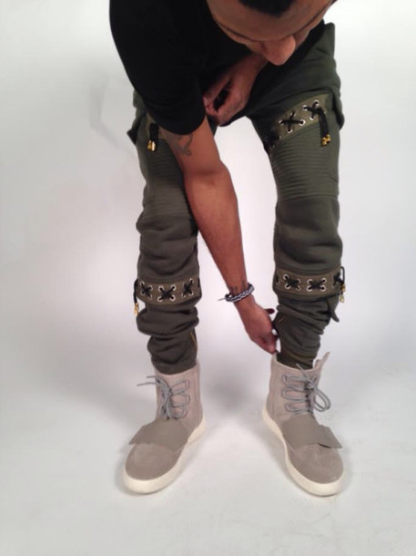 jeans yeezy kanye west joggers sweatpants joggers pants shoes yeezy boost 750 adidas