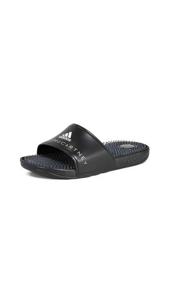adidas by Stella McCartney Adissage W Slides in black / white