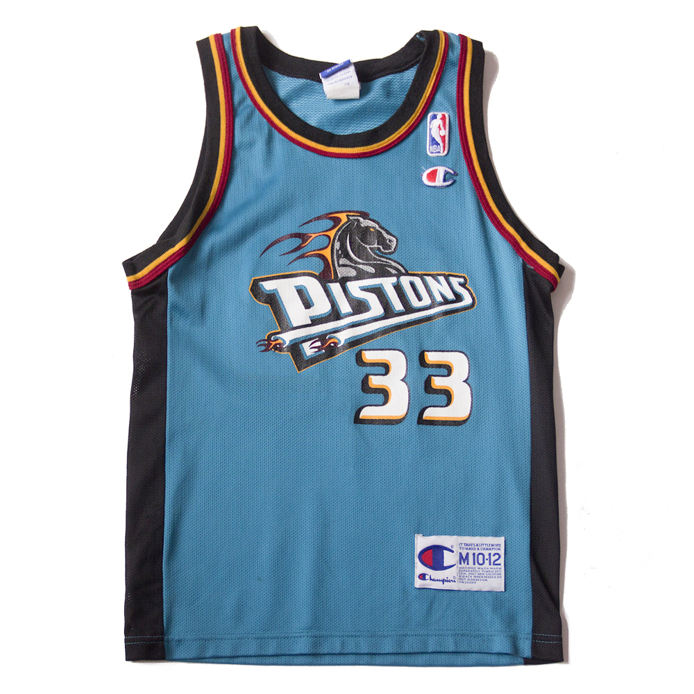 Grant Hill Pistons Jersey