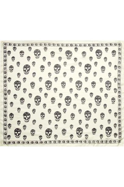 Alexander Mcqueen chiffon scarf silk