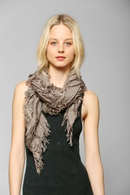 Urban Outfitters - Deena & Ozzy Shredded Square Scarf customer reviews - product reviews - read top consumer ratings