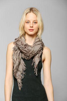 Deena & ozzy shredded square scarf customer reviews