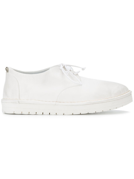 women shoes leather white