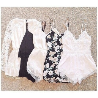 jumpsuit style fashion boho chic hippie boho hipe dress white dress bumper flowered shorts black dress summer dress shorts