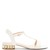 Casati T-bar pearl-heeled leather sandals