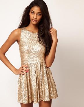 TFNC Sequin Prom Dress at ASOS