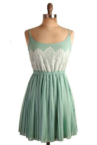 green dress lace dress summer dress