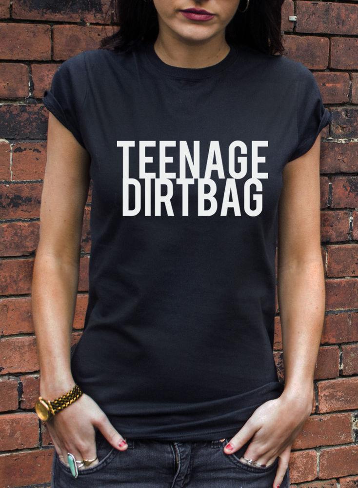TEENAGE DIRTBAG T-SHIRT MENS WOMANS HIPSTER DOPE HIP HOP DORK GEEK TSHIRT L598 | eBay