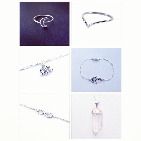 jewels ring jewelry moon infinity ring