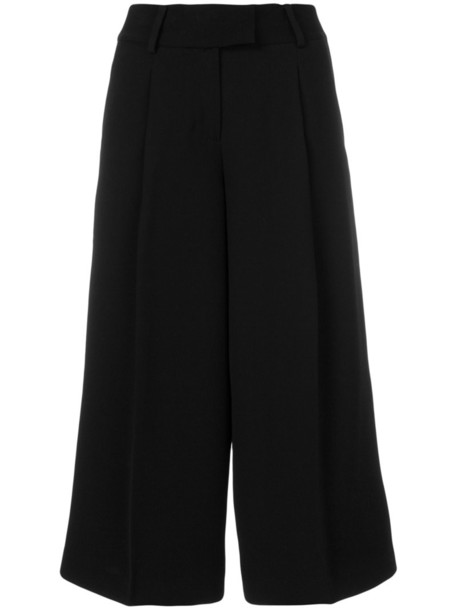 MICHAEL Michael Kors cropped women black pants