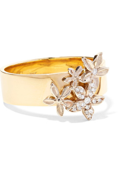 Foundrae diamond ring ring gold jewels