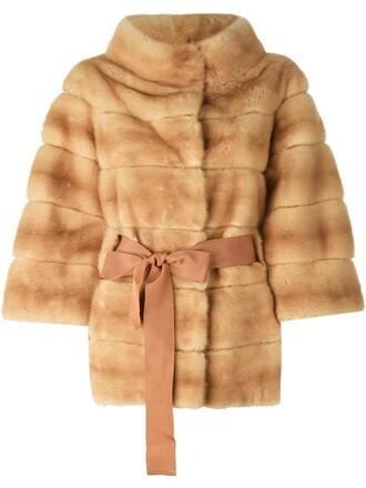 coat fur women nude