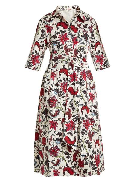 Diane Von Furstenberg dress cotton print white