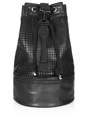 Perforated Duffle Bag - Bags & Purses  - Bags & Accessories  - Topshop