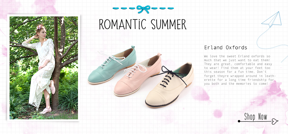 LeBunny Bleu Romantic & Vintage Flat Shoes