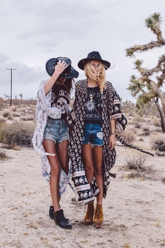 shirt kimono colorful shorts hat shorts women tshirts indie boho hipster top hipster jewelry gloves hair accessory dress cardigan