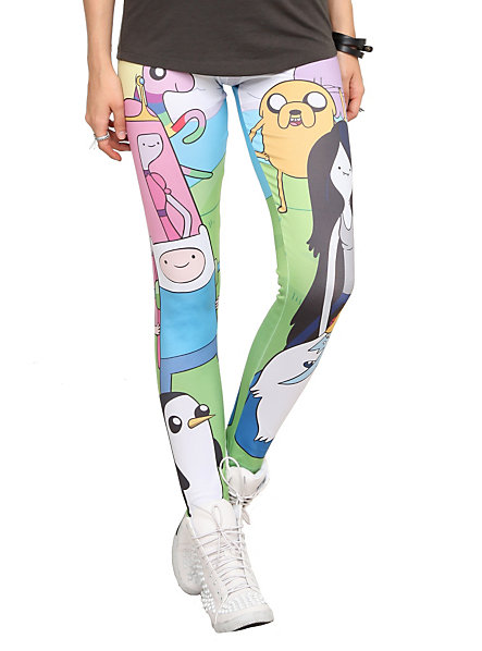 Adventure Time Character Leggings | Hot Topic